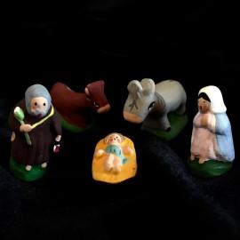 La Sainte Famille (ensemble de 5 pièces)