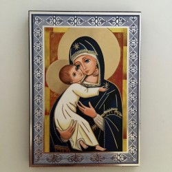 Cadre Vierge à l'Enfant