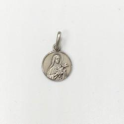 médaille Sainte Thérèse argent 10 mm