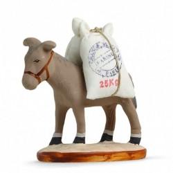 âne à la farine
