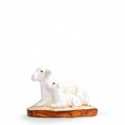 brebis et agneau