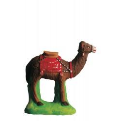 chameau debout rouge