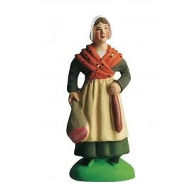 Femme au jambon