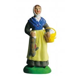 Femme au lapin
