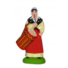 Femme tambourinaire