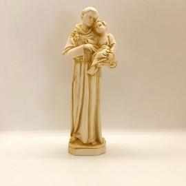 Statue Saint Antoine 23 cm ton ivoire