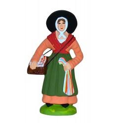 Femme aux rubans