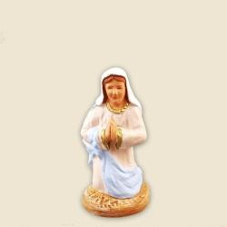 Sainte Vierge, santon Fouque 6cm