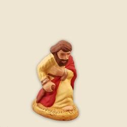 Saint Joseph, santon Fouque 6cm
