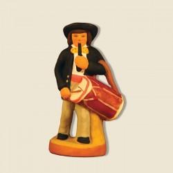 Tambourinaire, santon Fouque 6cm