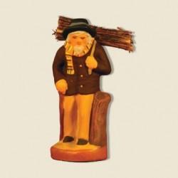 Le porteur de bois, santon Fouque 6cm