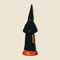 Penitent noir, santon...