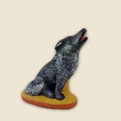 Loup, santon Fouque 9cm