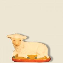 Mouton couché, santon...