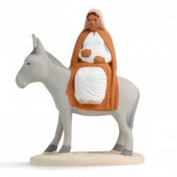 Marie de l'Avent, santon...