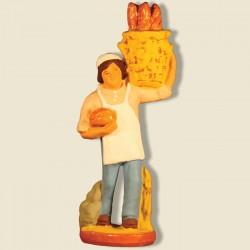 Boulanger, santon Fouque 9cm