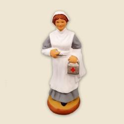 Infirmière, santon Fouque...
