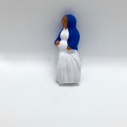 Femme enceinte, santon de...