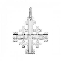 Croix de Jérusalem argent