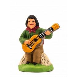 Gitan à la guitare, santon...