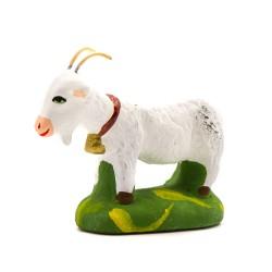 Chèvre blanche santon...