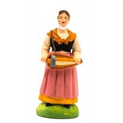 Femme à la vielle santon...