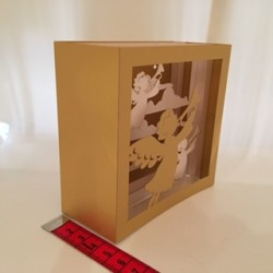 Carte 3D Anges petit...