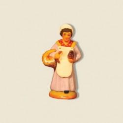 Boulangère, santon Fouque 4cm