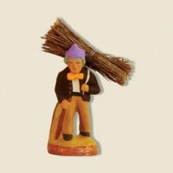 Porteur de bois ou homme au...