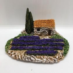 Cabanon lavande miniature,...