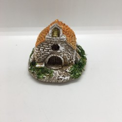Chapelle miniature, santons...