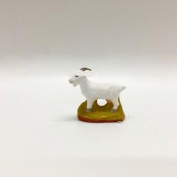 Chèvre blanche, santon...