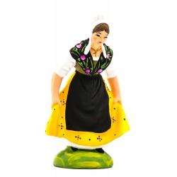 Danseuse comtadine jaune...