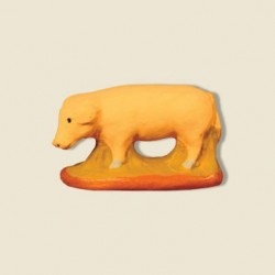 Cochon, santon Fouque 4cm
