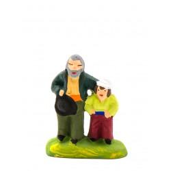 Aveugle et son fils santon...