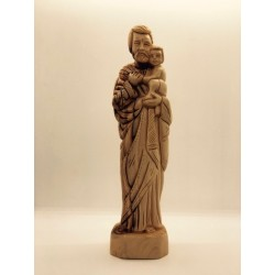 Saint Joseph statue bois...