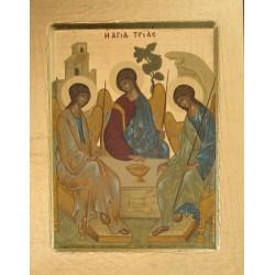 Icone Trinité de Roublev 19x16