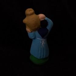 Paysanne à la jarre santon Filippi 3cm