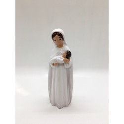 Vierge à l'Enfant émaillée...