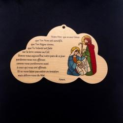 Cadre nuage Notre Père et...