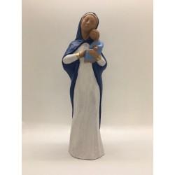 Statue Vierge à l'Enfant,...