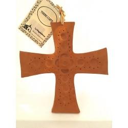 Croix carrée argile,...