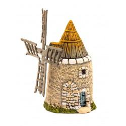Le moulin à vent N°2, décor...