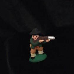 Chasseur à l'affût santon Filippi 3cm