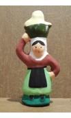 Paysanne à la cruche santon Filippi 3cm