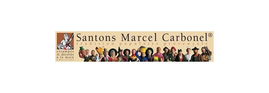 Santons Marcel Carbonel 4, 7 et 9 cm